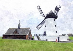 The Windmill - Trevor Harvey Art