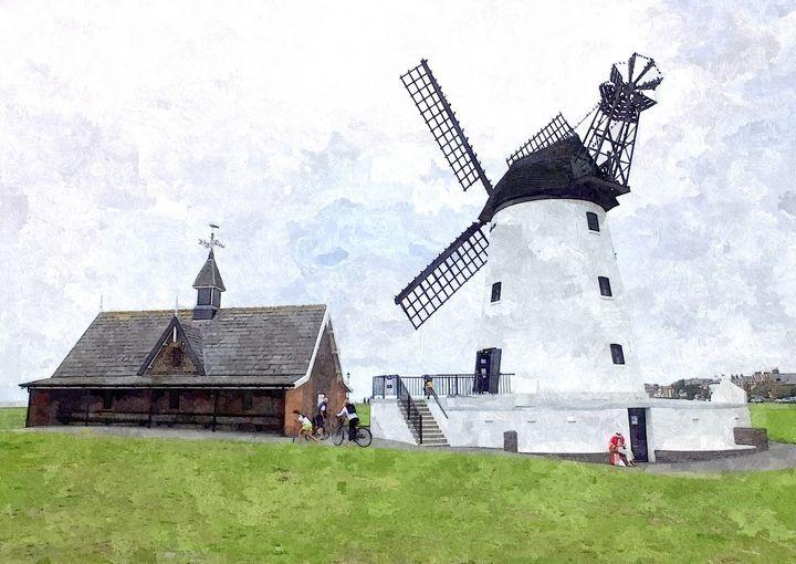 The Windmill - Trevor Harvey Art