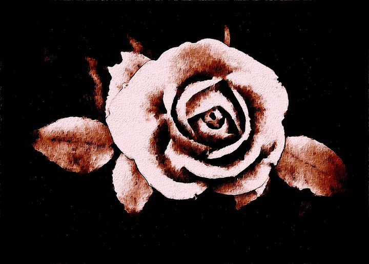 Copper Rose - Trevor Harvey Art