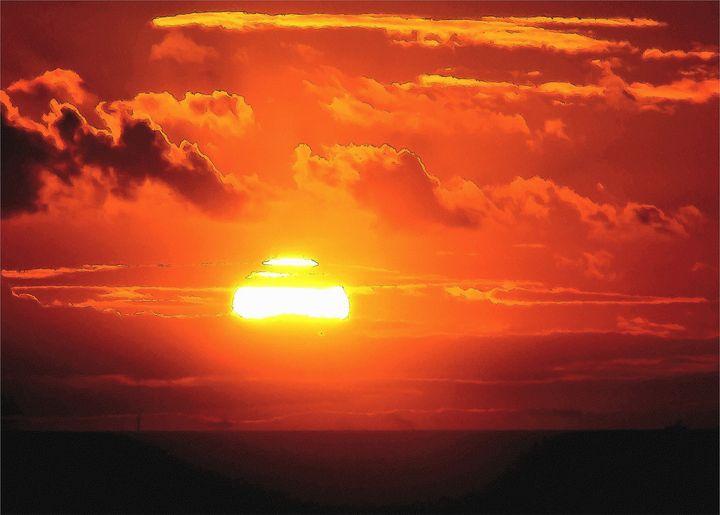 Sunset - Trevor Harvey Art