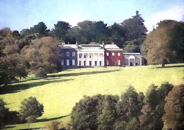 The Country House - Trevor Harvey Art