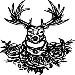 Deer Nature - Pretty N Black