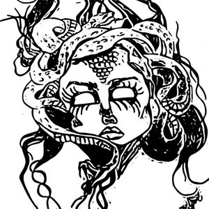 Medusa~Digital - Pretty N Black