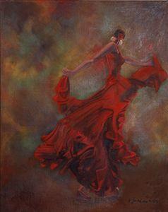 La Ballerina de Flamenco