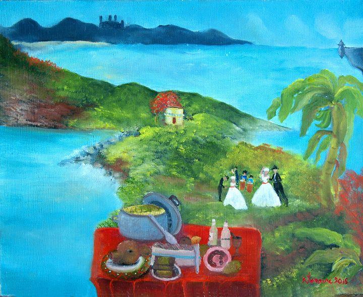 La cultura de Puerto Rico - kLoraine Artwork
