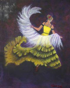 La Ballerina de Flamenco No. 2