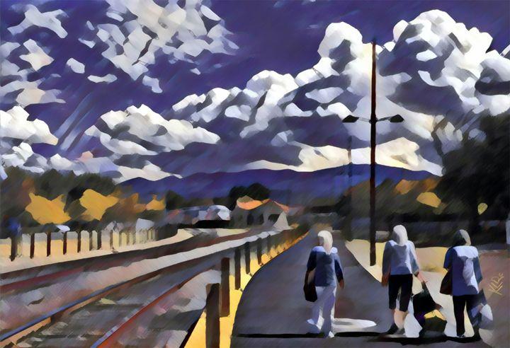 Santa Fe Station - Kevin Rehorn / Second Nature Fine Art