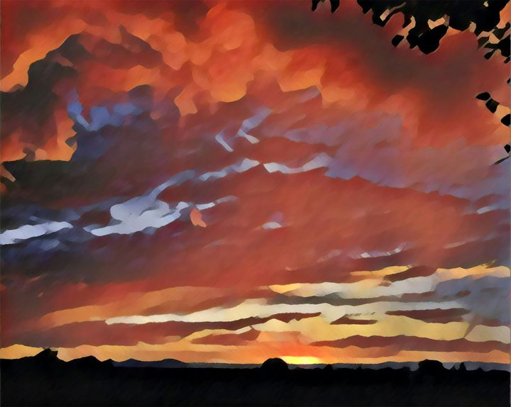 September Sunset - Kevin Rehorn / Second Nature Fine Art