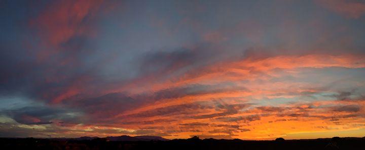 Sunset On Sandia - Kevin Rehorn / Second Nature Fine Art