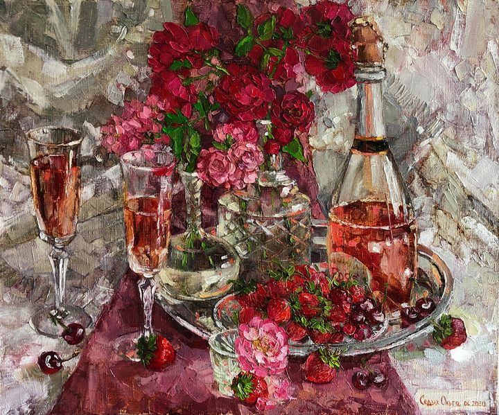 Bouquet Of Pink Champagne - OlgaSedykh
