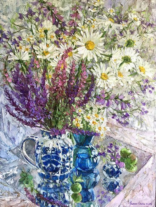 Sage in the daisies - OlgaSedykh