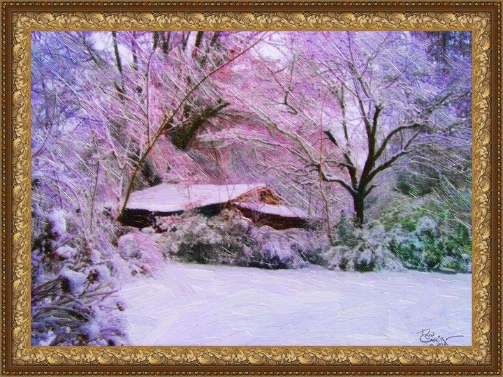 Purple frozen rain - Don Castillo