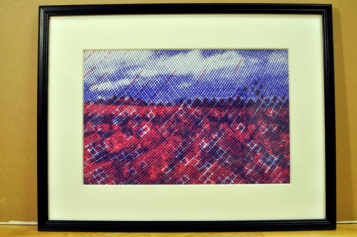 Red Flowerfield - Kaizer Abdullah von Maanen