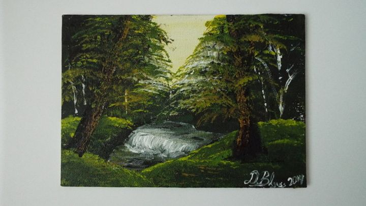In the woods - Dylan's Art Gallery