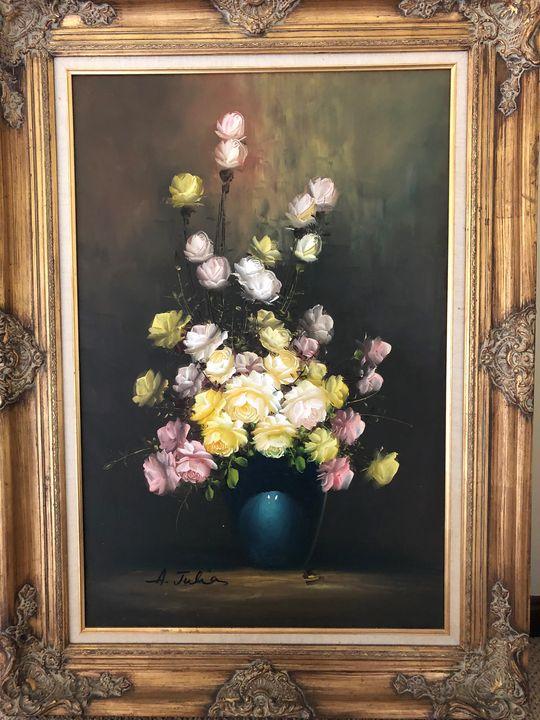 Ann Julia Rant Original Floral - Sale Art