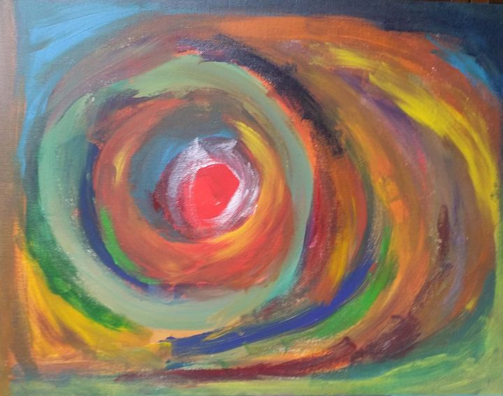 abstract  painting - anamika art gallery