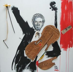 Tribute to Tapies