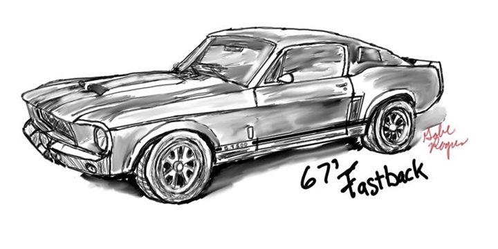"1967 Mustang Fastback ""Eleanor"" - Mr.Rogers"