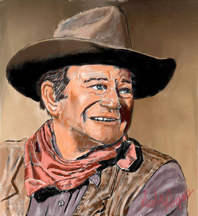 """The Duke"" John Wayne - Mr.Rogers"