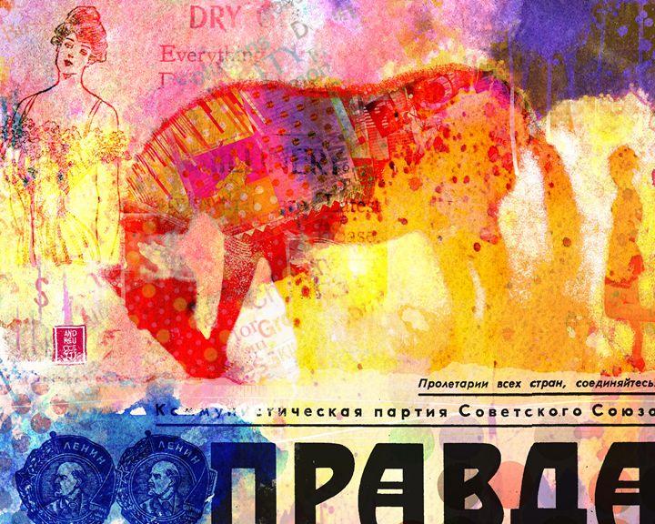 Russian horse - Alessandro Andreuccetti Art