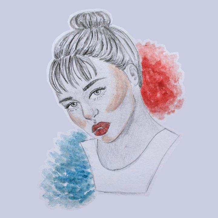 Girl Portrait - Latiefaah