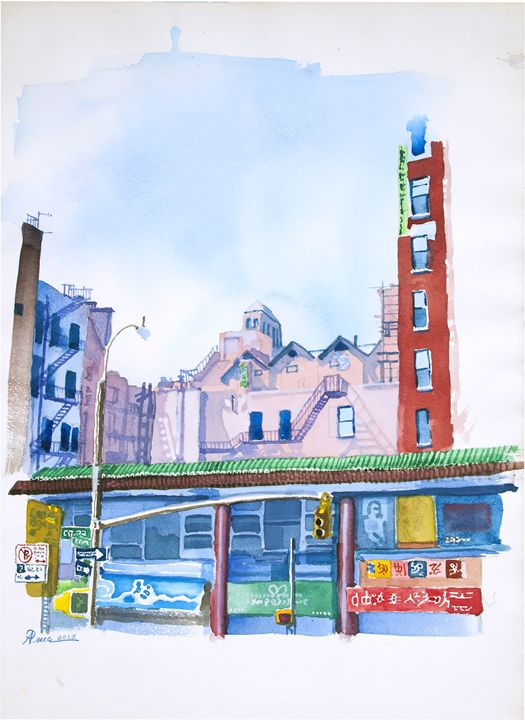Hester Street - Alex Price Collection