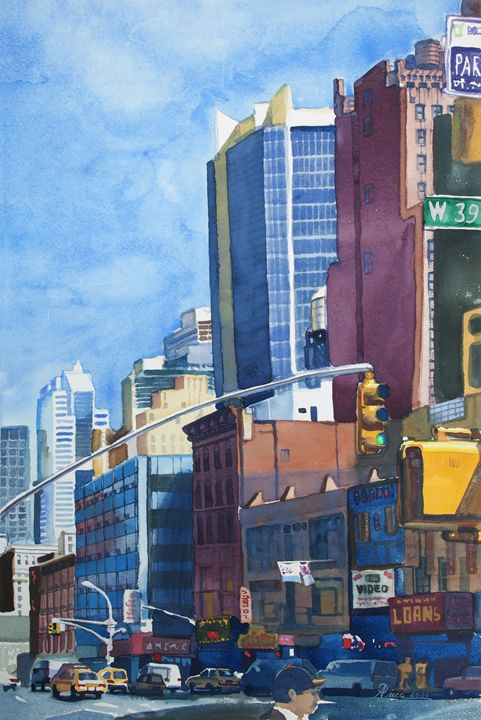 West 39th Street - Alex Price Collection