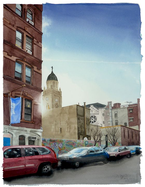 East 4th Street - Alex Price Collection