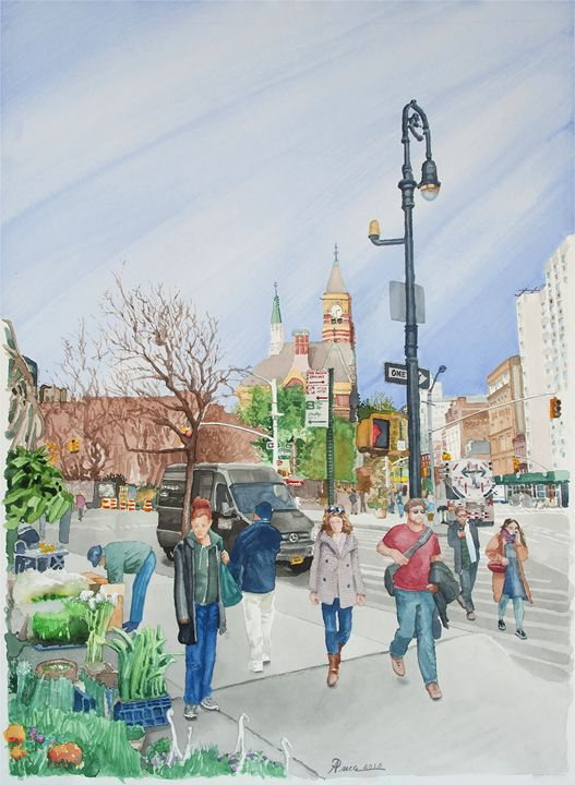 Greenwich Street - Alex Price Collection
