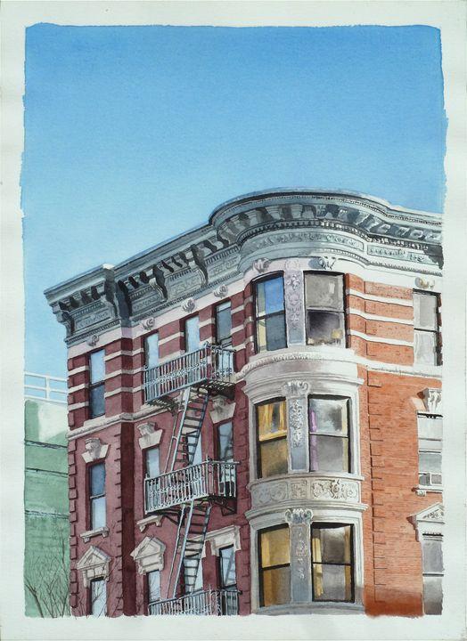 Houston Street Bay Windows - Alex Price Collection