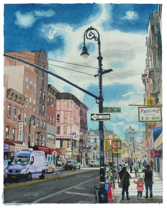 Ludlow Street - Alex Price Collection