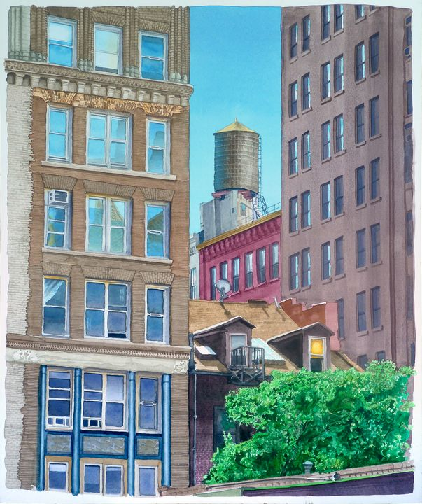 Soho Water Tower - Alex Price Collection