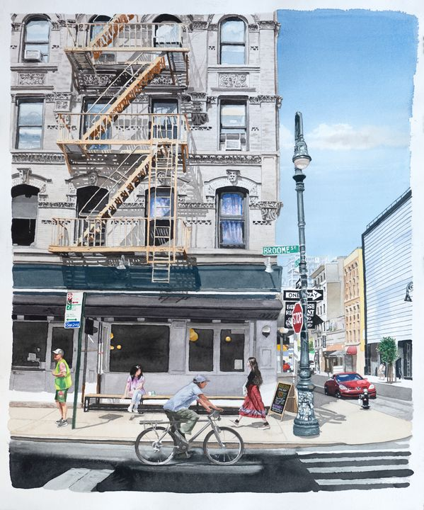 Broome Street - Alex Price Collection