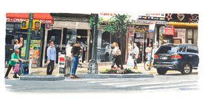 NYC Midtown Street Scene