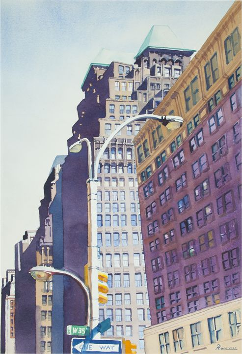 West 35th Street - Alex Price Collection