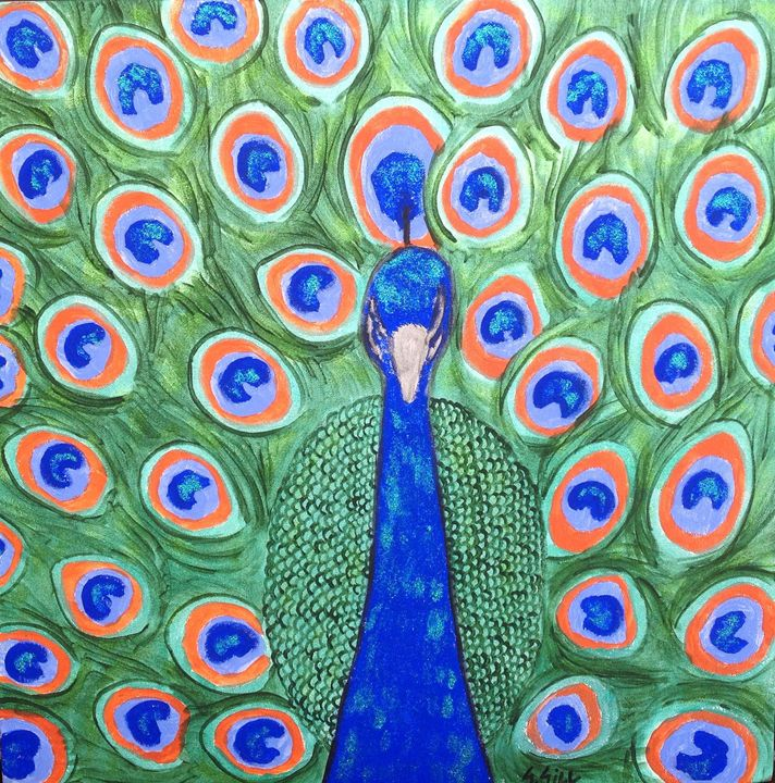 Shining peacock - Gillz gallery