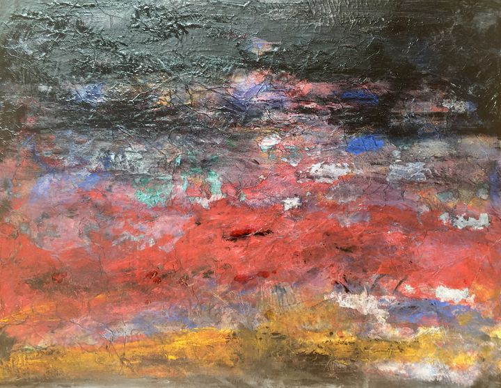 Abstract landscape - Marcia_Reveron_Art