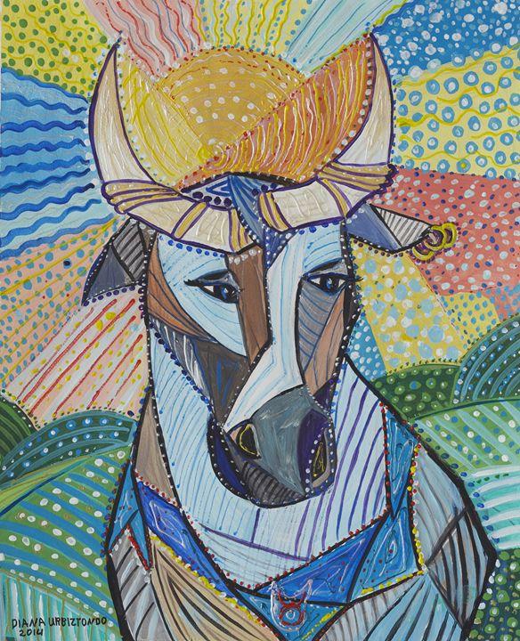 Taurus - the Bull - Ramani Astro Art (Diana Petrulyte Rodriguez Urbizt