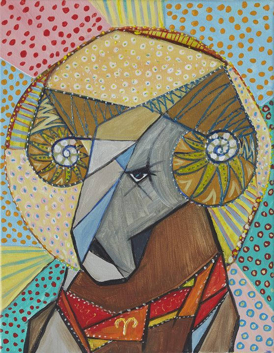 Aries the Ram - Ramani Astro Art (Diana Petrulyte Rodriguez Urbizt