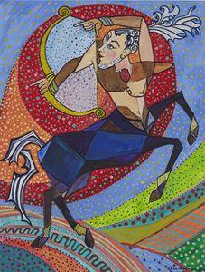 Sagittarious - the Centaur - Ramani Astro Art (Diana Petrulyte Rodriguez Urbizt