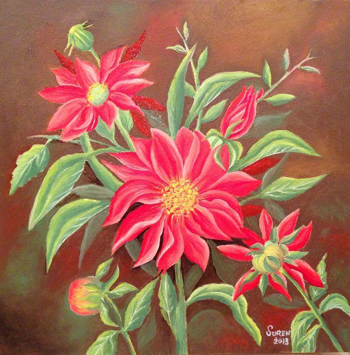 Flowers - Suren's Art