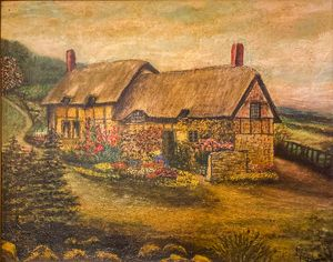 Oil/Canvas by Prussian M.Kruger