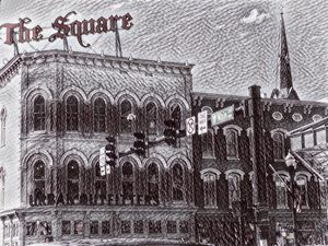 The Square In Ink