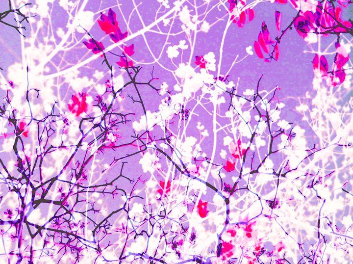 Entchanting Violet - Flowers by Alaya Gadeh