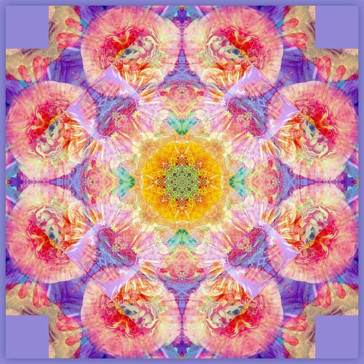Fruit & Flower Mandala - Flowers by Alaya Gadeh
