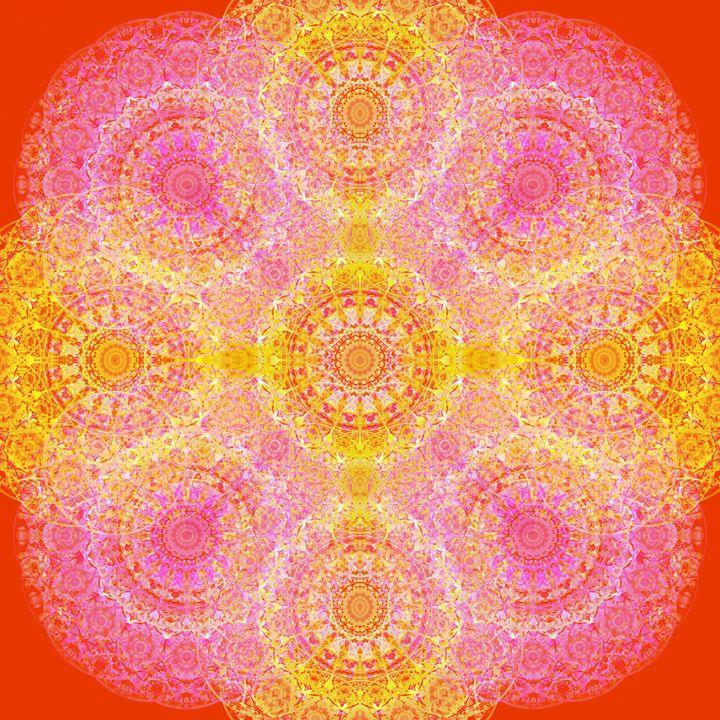 Sun Mandala - Flowers by Alaya Gadeh
