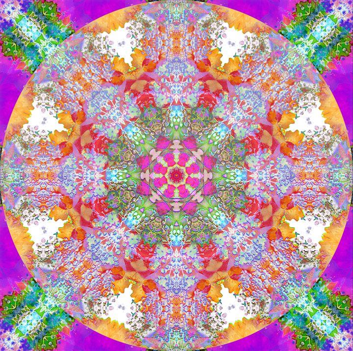 Energy Mandala - Flowers by Alaya Gadeh