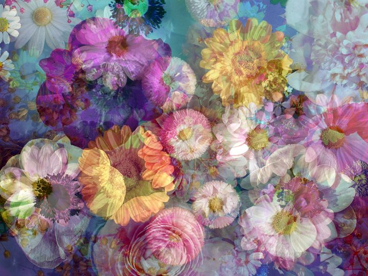 Poetry Pure - Flowers by Alaya Gadeh