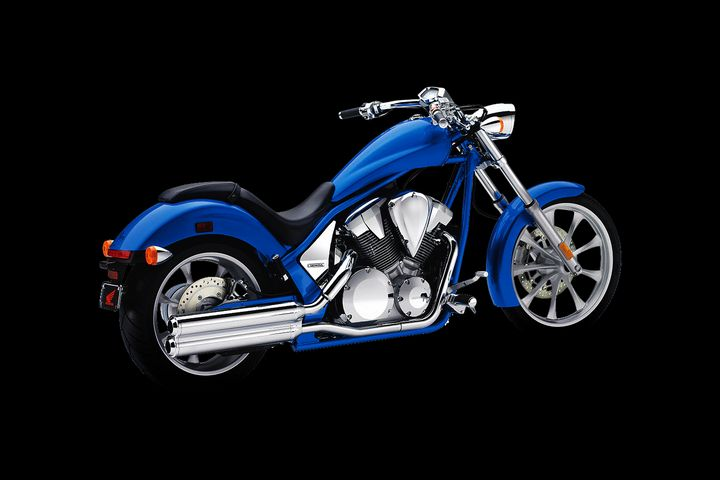 Blue Honda Fury - Stephen Smith Galleries