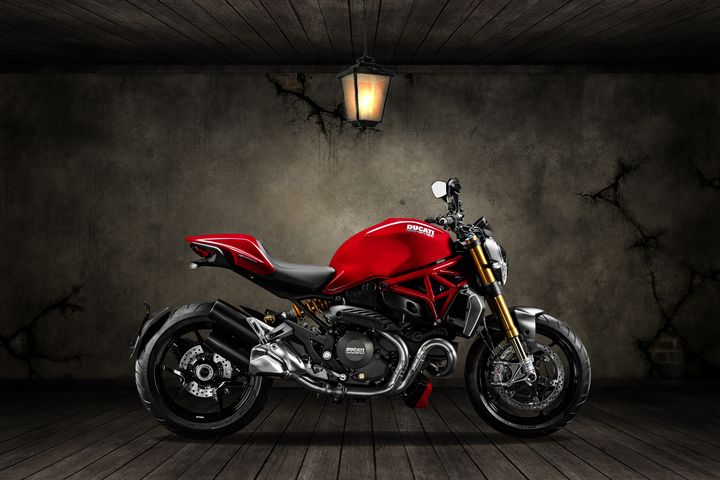 Ducati Monster 696 Old Room - Stephen Smith Galleries